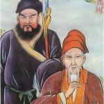 Jiang Fa (Back) with Chen Wangting